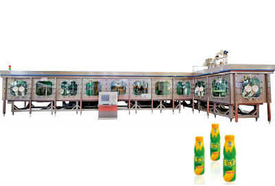 PET Bottle Aseptic Cold Filling Machine