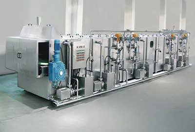 Continuous Spraying Type Pasteurization and Cooling Tunnel