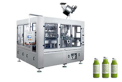 Glass Bottle Filling Machine(PLC)