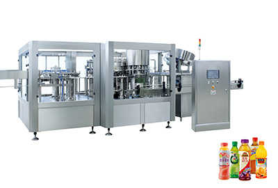 Normal Presure Hot Filling Machine 3-In-1 Unit