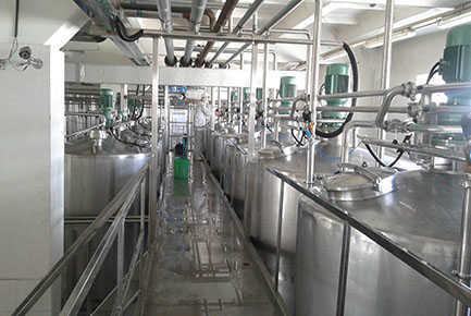 Ice Cream Processing Line